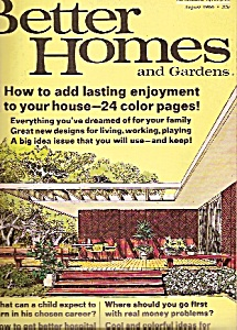 Better Homes & Gardens - August 1966 (Image1)
