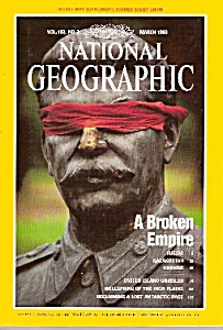 National Geographic Magazine- March 1993
