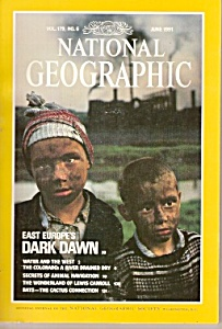 National Geographic magazine-  June 1991 (Image1)