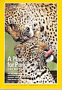 National Geographic Magazine- July 1996