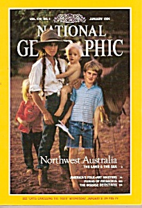 National Geographic magazine -  January 1991. (Image1)