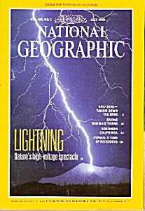 National Geographic Magazine- July 1993