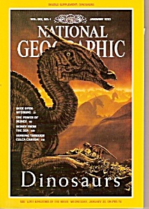 National Geographic magazine- January 1993 (Image1)