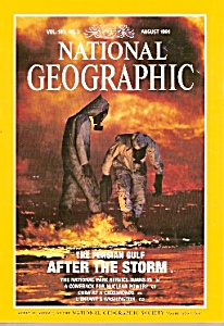 National Geographic magazine- August 1991 (Image1)