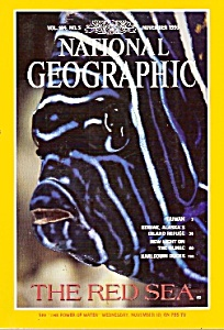 National Geographic magazine-  November 1993 (Image1)