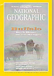 National Geographic Magazine- November 1994 (Image1)