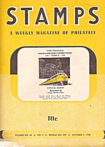 Stamp magazine - October 9, 1948 (Image1)