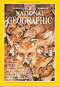 National Geographic magazine-  September 1991 (Image1)