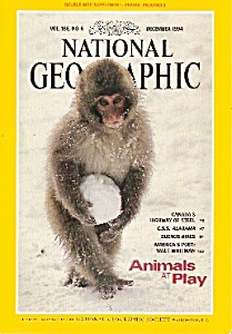 National Geographic magazine-  December 1994 (Image1)