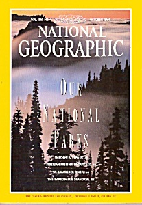 National Geographic magazine - October 1994 (Image1)