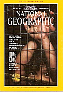 National Geographic magazine -  February 1991 (Image1)