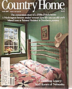Country Home Magazine -  April 1987 (Image1)