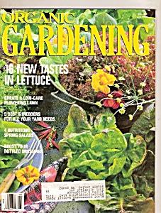 Organic Gardening - May 1989 (Image1)