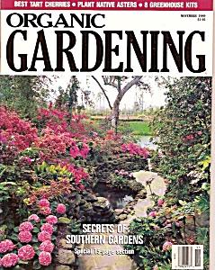 Organic Gardening -  November 1989 (Image1)