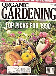 Organic Gardening - January 1990 (Image1)