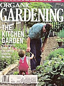 Organic Gardening - February 1991 (Image1)