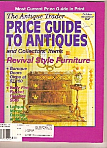 The Antique Trader Price guide to antiques - Oct/Nov. 1 (Image1)