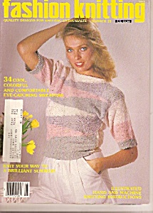 Fashion knitting - April 1985 (Image1)