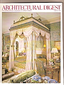 Architectural Digest - March 2003 (Image1)