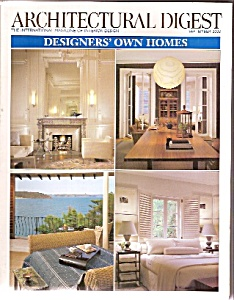Architectural Digest -  September 2003 (Image1)