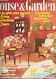 House & Gardens - February 1975 (Image1)