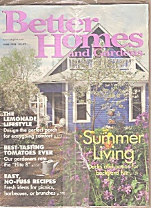 Better Homes and Gardens-  June 1998 (Image1)