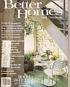Better Homes and Gardens -  September 1982 (Image1)
