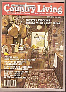 Country Living - Junejuly 1981