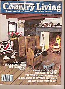 Country Living -  August/September 1981 (Image1)