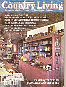 Country Living -   February 1982 (Image1)