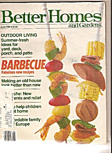Better Homes And Gardens- June 1983
