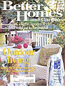 Better Homes and Gardens -  June 1997 (Image1)