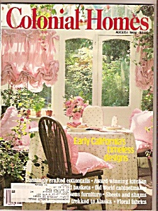 Colonial Homes -  August 1988 (Image1)