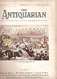 The Antiquarian -  January 1928 (Image1)