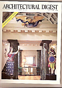 Architectural Digest - January 1988