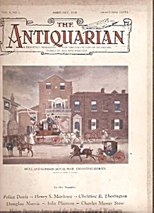 The Antiquarian -  February 1928 (Image1)