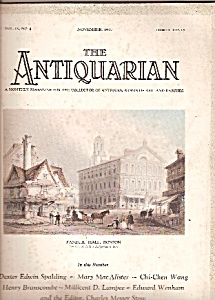 The Antiquarian -november 1927