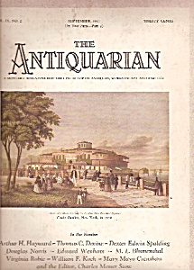 The Antiquarian = September 1927
