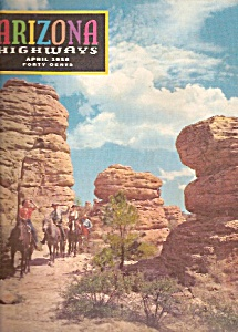 Arizona Highways - April 1958 (Image1)