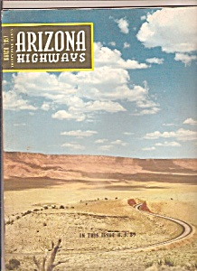 Arizona Highways -  March 1957 (Image1)