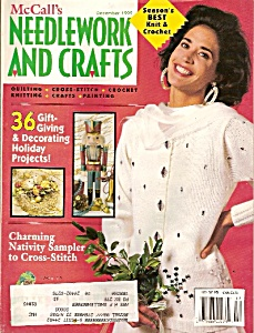 Mccall's Needlework And Crafts - December 1992