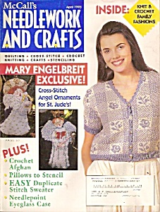 Mccall's Needlework And Crafts -april 1993