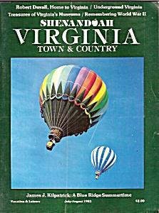 Virginia Town & Country- Shenandoah - July-August 1983 (Image1)