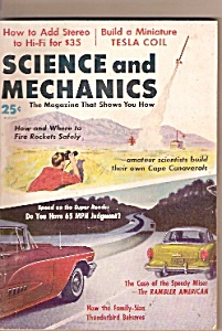 Science and Mechanics -  August 1958 (Image1)