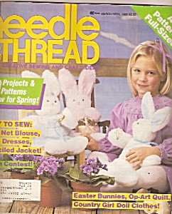 Needle & thread - March-April 1985 (Image1)