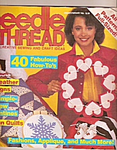Needle & thread - January, february 1985 (Image1)