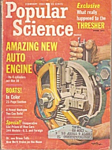 Popular Science - February 1964 (Image1)