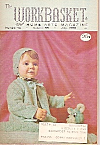 The Workbasket And Home Arts Magazine- July 1968
