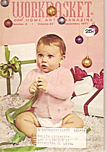 The Workbasket and home arts magazine -  December 1971 (Image1)