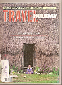 Travel Holiday - January 1981